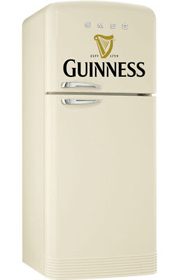 Guinness Stout Fridge Wrap Fridge-Freezer Sticker Sizes to Fit Fridge Kitchen