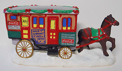 VINTAGE! 1995 Coca-Cola Town Square Collection The Lunch Wagon #64335