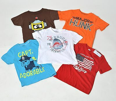 True Religion/carter's/old Navy Toddler Shirts X5 (Sz 3T) [F]