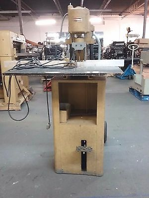 Challenge JF single hole paper drill foot operated runs great.