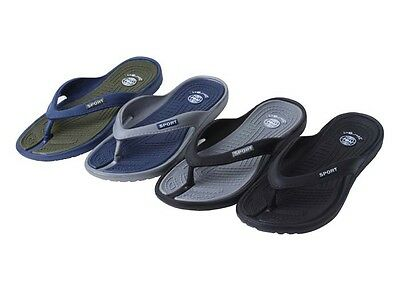 New Men's Lightweight Flip Flops Sandals Available in 4 Colors