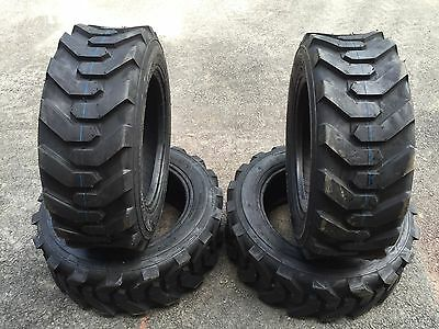 4 NEW 27X8.50-15 Skid Steer Tires - 8 Ply-27X8.5-15- for Bobcat, Case, Gehl, etc