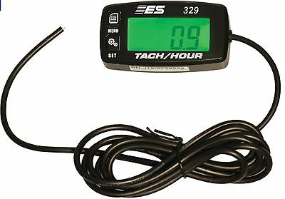 ESI 329 Small Engine Tach,Hour Meter-RPM,HOUR METER,ENGINE JOB TIMER