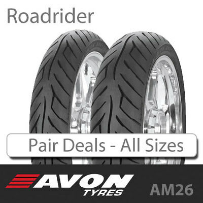 Avon RoadRider AM26 - Pair Deal