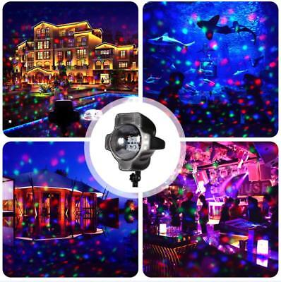 RGB LED Projector Projection Light Outdoor Christmas Xmas Landscape Garden Party