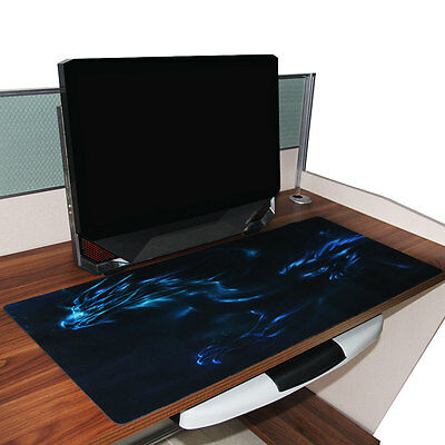 Extra Large XL Gaming Mouse Pad Desk Mat for PC Laptop Macbook Anti-Slip 90*40cm