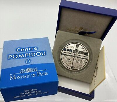 France 2010 Centre POMPIDOU 10 euro Silver Proof - Francia plata silber