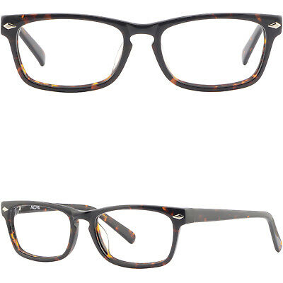 9692c9ee5ff Rectangle Tortoise Shell Plastic Frame Acetate Glasses Eyeglasses Silver  Pieces