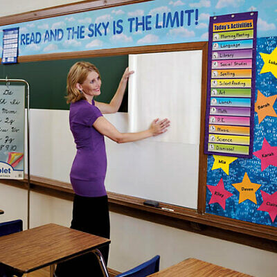 GOWRITE GOWRITE DRY ERASE ROLL 18IN X 6FT
