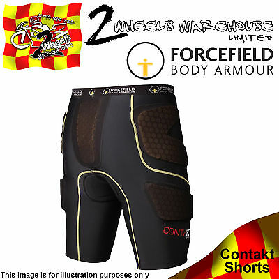 Forcefield Contakt Shorts Body Armour Sport Leg Hip Protector Protection Contact