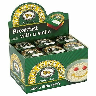 Lyles's Golden Syrup Individual Portions - 12 x 20gm