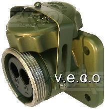 Heavy Duty Nato Type Socket 24 Volt 200 Amp 2 Pin Military Huco 153211 180197