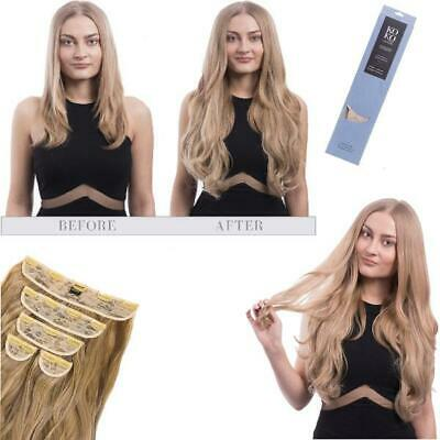 Koko super thick 5 piece weft loose curl wavy hair extensions Various colours
