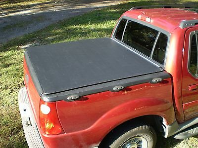 2001-05 Ford Explorer Sport Trac (1st Gen)Hatch Style Bed Cover - Craftec Covers