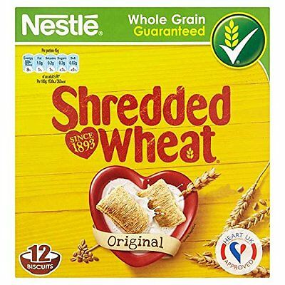 Shredded Wheat 4 x 12 Biscuits