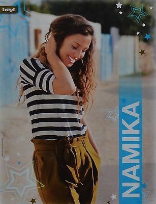NAMIKA - A4 Poster (ca. 21 x 28 cm) - Clippings Fan Sammlung NEU