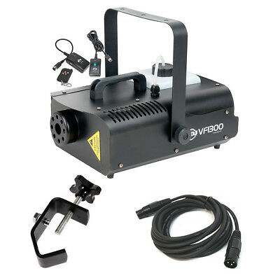 American DJ VF1300 1300 Watt Area Effect Fog Machine with Clamp and DMX Cable