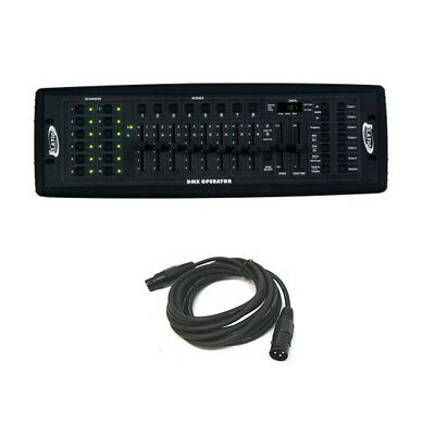 American DJ DMX OPERATOR 192 DMX Channel Light Fixture Controller with DMX Cable