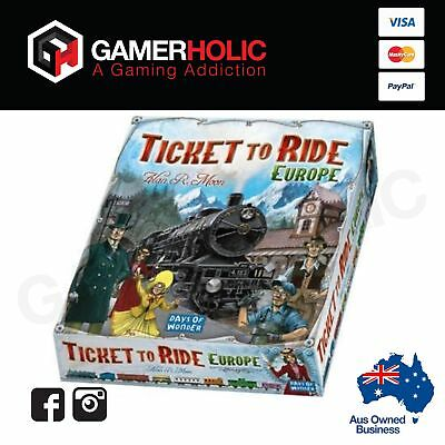 Ticket To Ride Europe Family Board Game Brand New