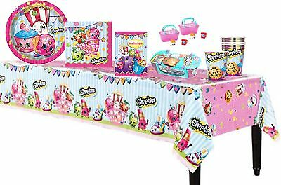 Shopkins Birthday Supply Complete Party Pack for 8