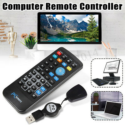 USB Computer Remote Control Media Centre Controller PC Laptop Win 7 XP Vista