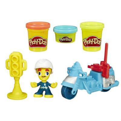 Play-Doh Town Police Motorcycle from Hasbro