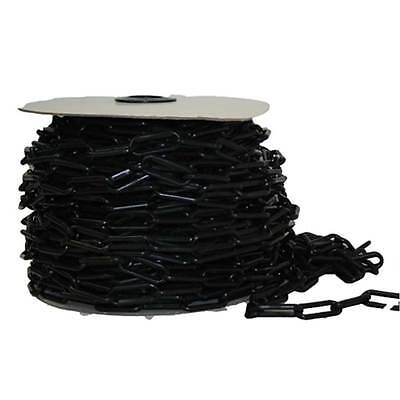 Black Plastic Chain 40 metre roll x 6mm