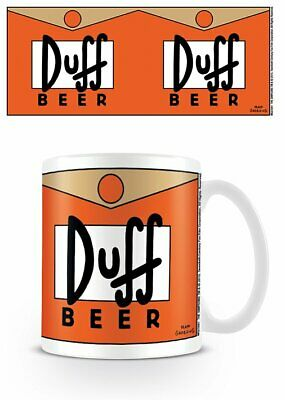 Simpsons - Ceramic Coffee Mug / Cup (Duff Beer Logo)