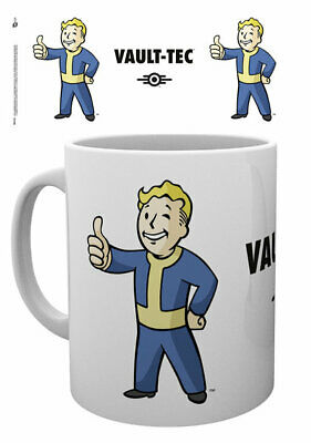 Fallout 4 - Ceramic Coffee Mug /cup (Vault Boy)