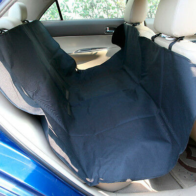 Sumex Waterproof Hammock Rear Back Seat Protection Cover for Pets & Dogs - Black