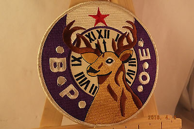 """Bpoe Benevolent Protective Order Of Elks Embroidered Sew On Patch 5"""""""
