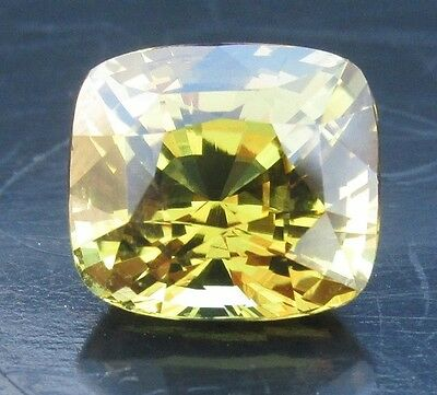3.92 cts - Bright Greenish Yellow Chrysoberyl With Video!