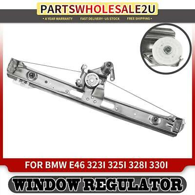 328 /& 330 NEW Power w// MOTOR Window Regulator RH REAR//FOR 1999-05 BMW 323 325