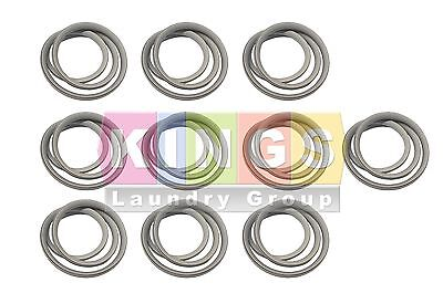 10 Pcs New Dryer Door Glass Gasket for Dexter 30Lbs # 9206-164-009 Stack Dryer