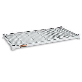 """Extra Shelf For Square-Post Wire Trucks And Carts - 48""""Wx24""""D - Package Quant..."""