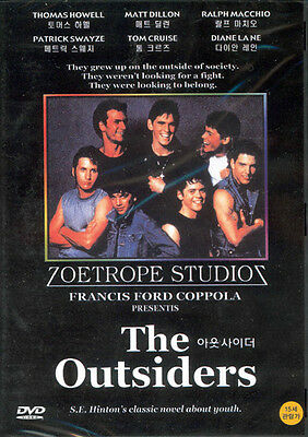 The Outsiders,1983 (DVD,All,Sealed,New) Francis Ford Coppola