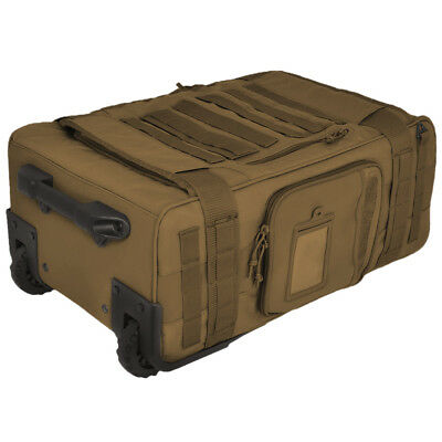 Hazard 4 Air Support Rugged Rolling Carry-On Holdall Heavy Duty Military Coyote