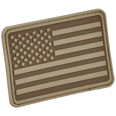 Hazard 4 Usa Flag Left Arm Morale Patch Stars Stripes 3D Tactical Coyote