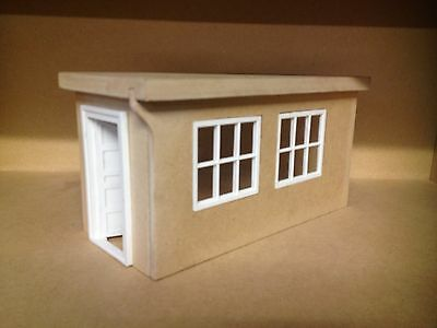 1:18 1-18 1/18 118 Scale Mdf Office Shop Internal Building Space With Windows