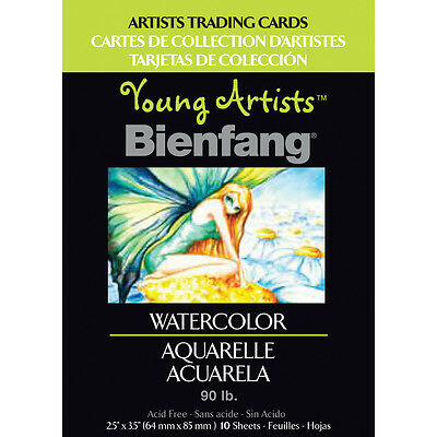 "Young Artists Trading Cards 2.5""X3.5"" 10/Pkg Watercolor 220013"
