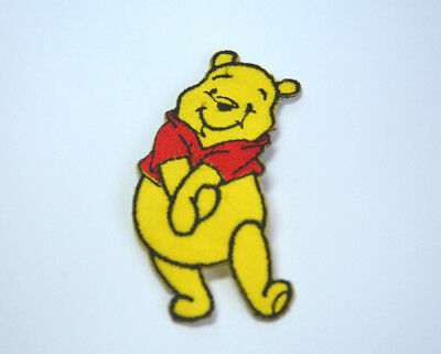 WINNIE THE POOH BEAR  Embroidered Iron Sew On Cloth Patch Badge  APPLIQUE