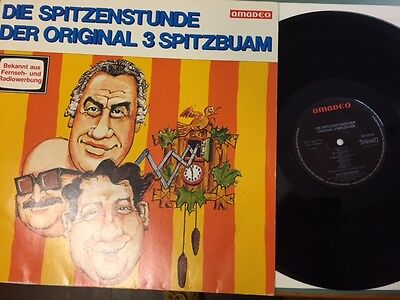 Die Spitzenstunde der original 3 Spitzbuam LP Amadeo Club Edition 30124