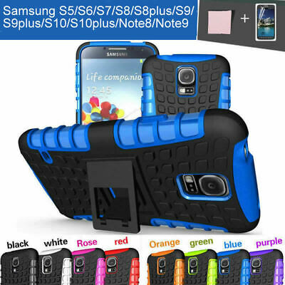 Case Cover For Samsung Galaxy S5 S8 S8 Plus S6 S7 S9 Note 8 9 Shockproof Armor
