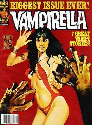 Vampirella - Canvas Comic Book Print from The Bordeaux Art Gallery Sale