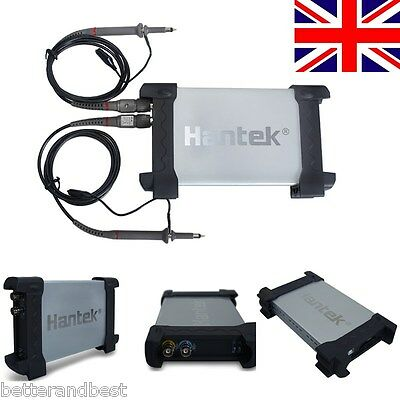 UK 6022BE PC USB 2CH Digital Oscilloscope 20Mhz 48Msa/s 1M Byte/CH Bandwidth New