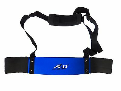 ARD CHAMPS™ Heavy Duty Arm Blaster Body Building Bomber Bicep Curl Triceps Blue
