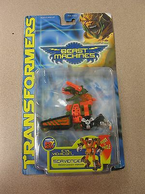 Transformers Beast Machines Evil Vehicon, Scavenger NEW  Free Shipping