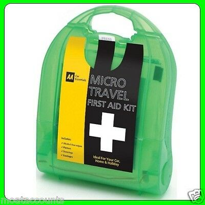 AA Travel First Aid Kit [PUB03050] Car Essentials Pocket