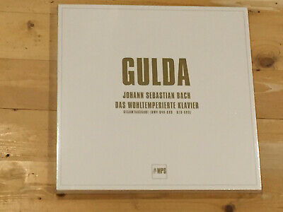 Bach The Well Tempered Clavier GULDA Piano Audiophile MPS 5x 180g LP BOX NEW SS