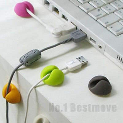 New Smart Cable Organizer Holder Line Fixer for Home Office Desk